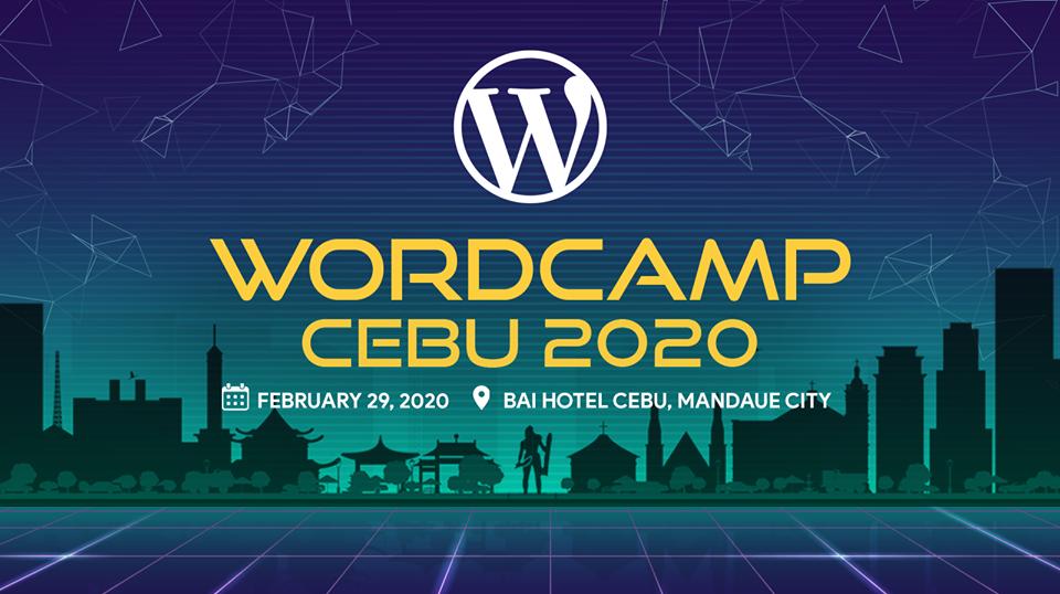 WordCamp Cebu 2020