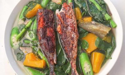 Utan Bisaya with fish
