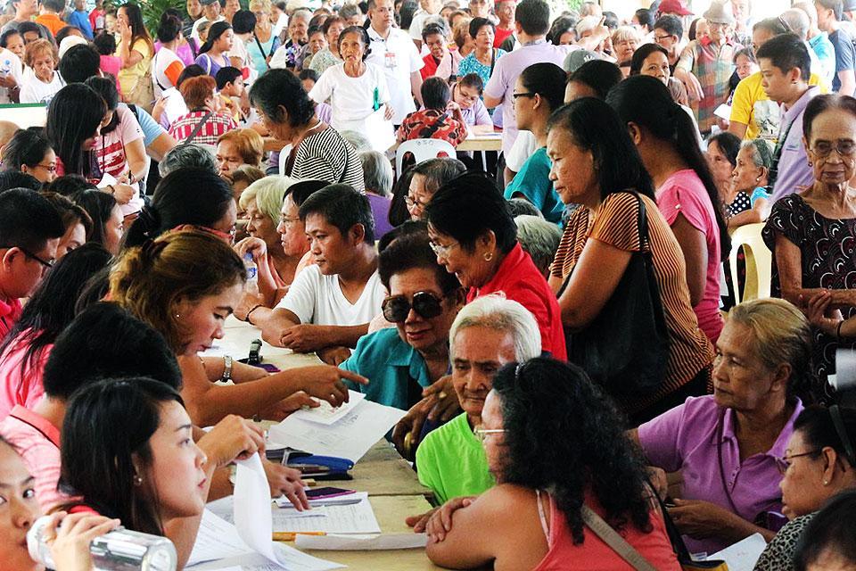 Senior citizens in Cebu