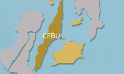 Cebu island and neighboring islands