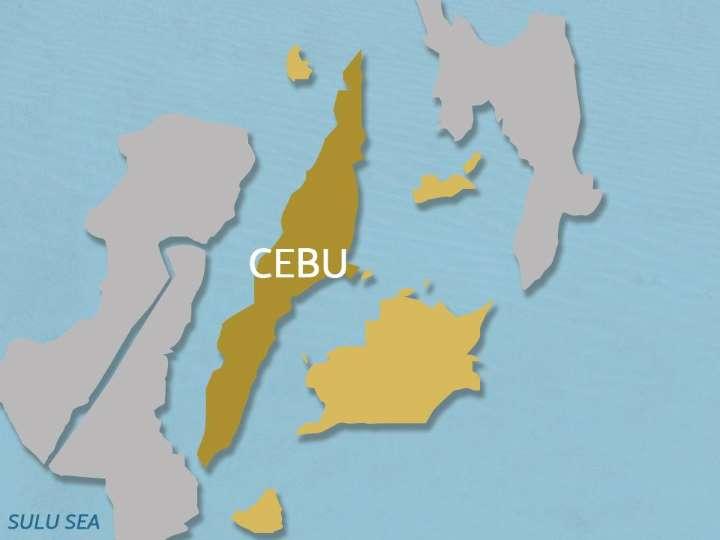 Cebu island and neighboring islands