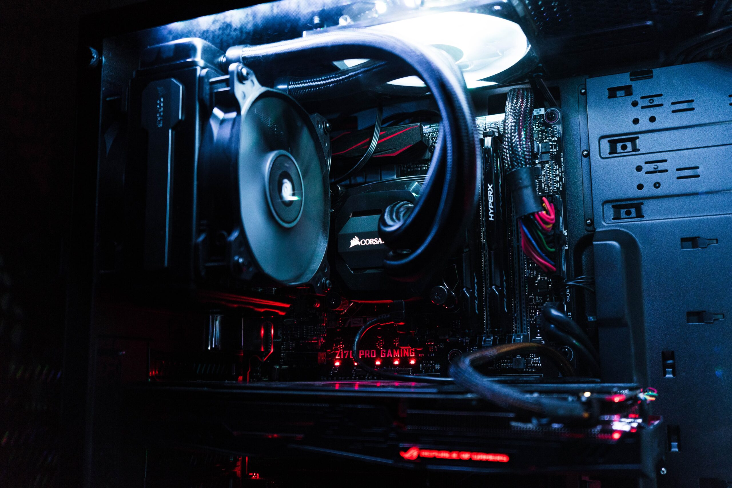 PC case for gamers