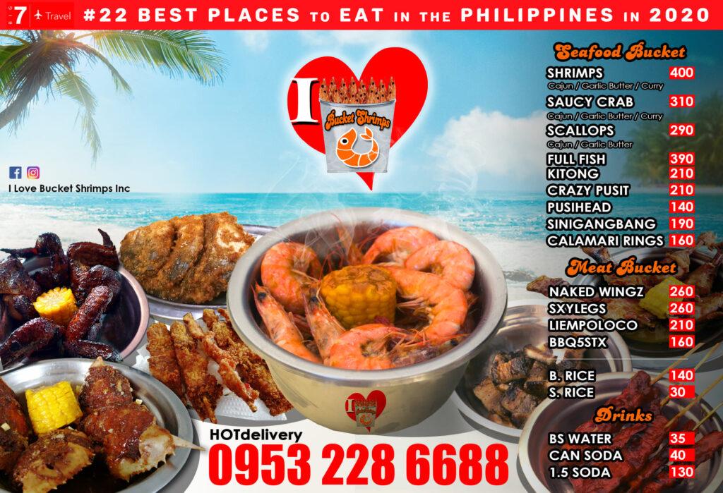 Bucket shrimp Cebu
