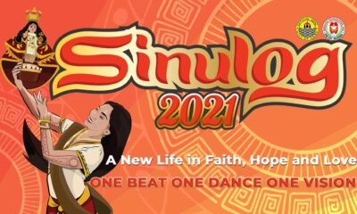 Sinulog cover photo from Facebook